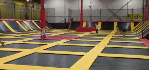 aerosports trampoline park. atrakcje oakville brampton, dla dzieci, polacy kanada