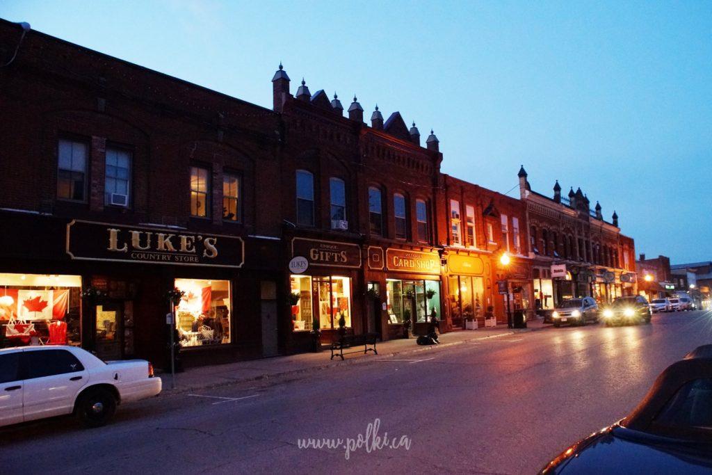 port perry downtown, polacy kanada, zwiedzanie kanady, wycieczki